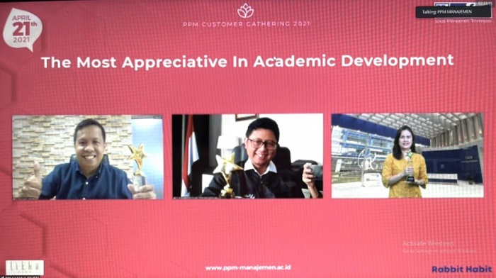 Hari Kartini, Pelindo IV Raih  The Most Appreciative In Academic Development